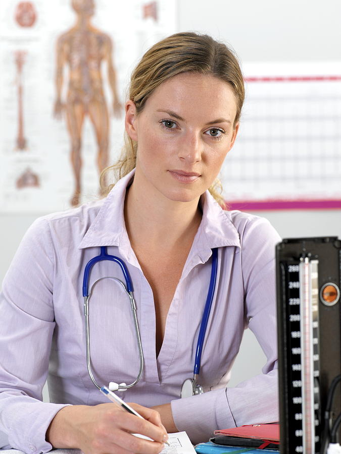 Human Photograph - General Practice Doctor by Tek Image