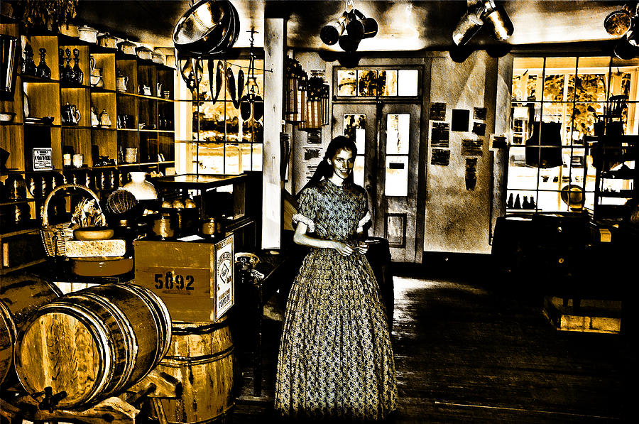General Store Harpers Ferry Photograph - General Store Harpers Ferry by Bill Cannon