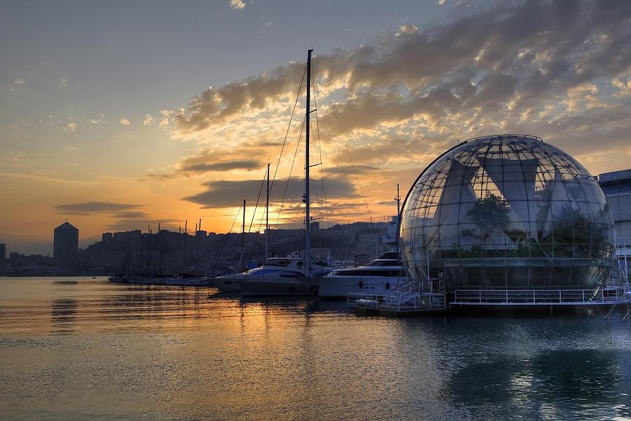 Biosphere Photograph - Genoa by Joana Kruse
