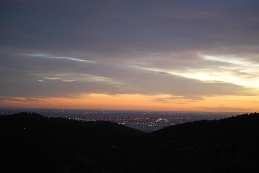 Gentle Sunrise above Boulder Photo by William Frew