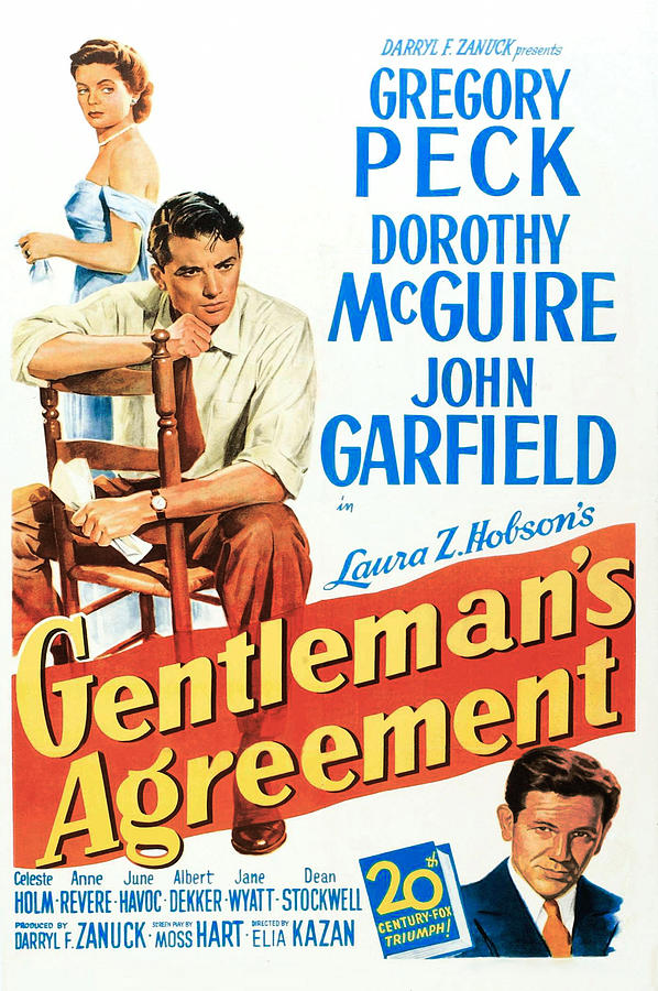 1940s Movies Photograph - Gentlemans Agreement, Dorothy Mcguire by Everett