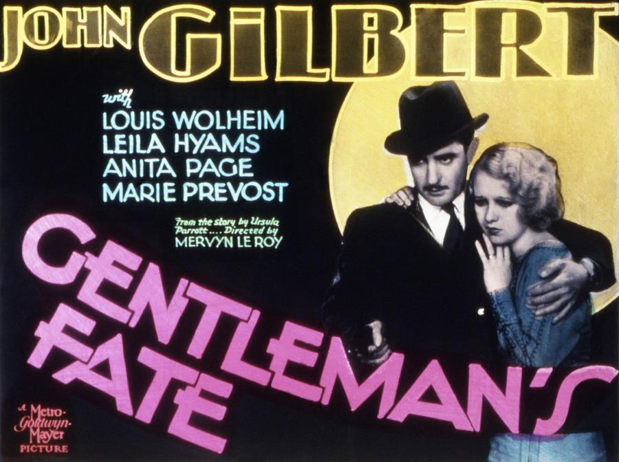 1930s Movies Photograph - Gentlemans Fate, John Gilbert, Anita by Everett