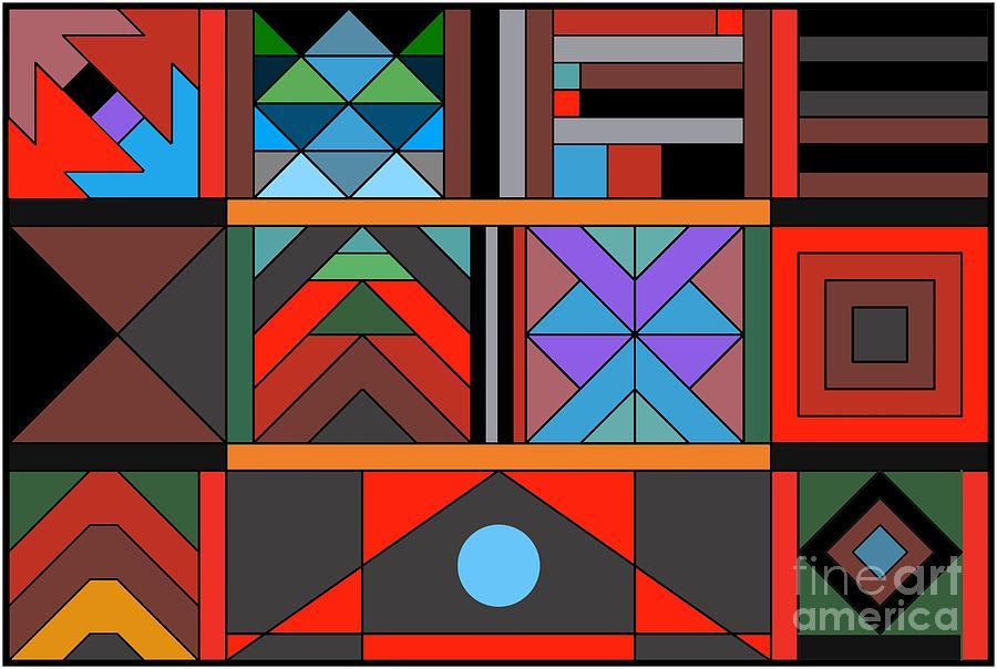 Geometric 2 by Vilas Malankar