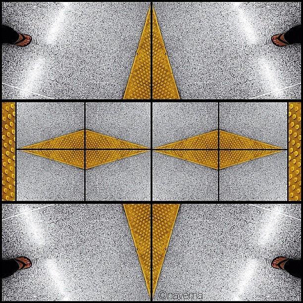 Symmetry Photograph - Geometric Metro by Natasha Marco