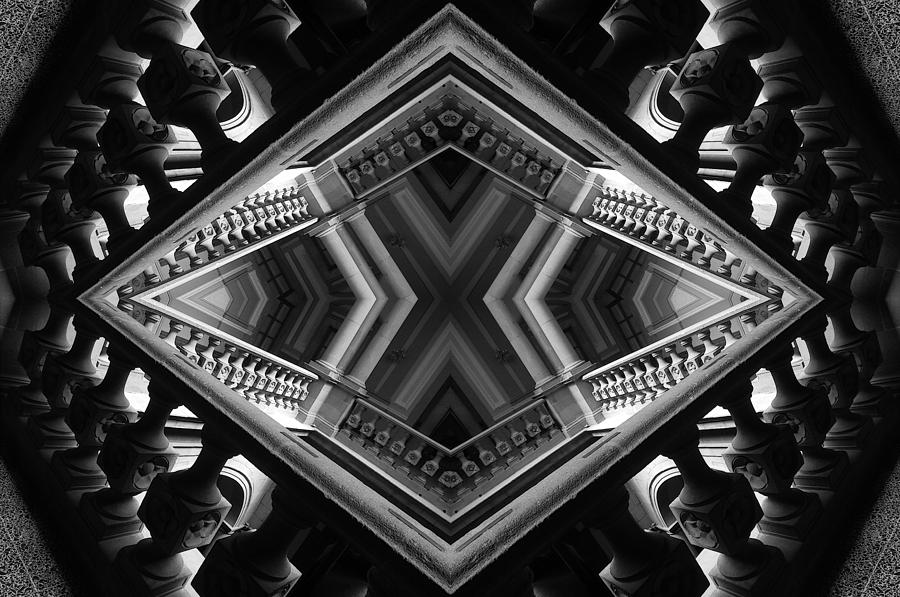 Abstraction Photograph - Geometric Play by Jesus Nicolas Castanon