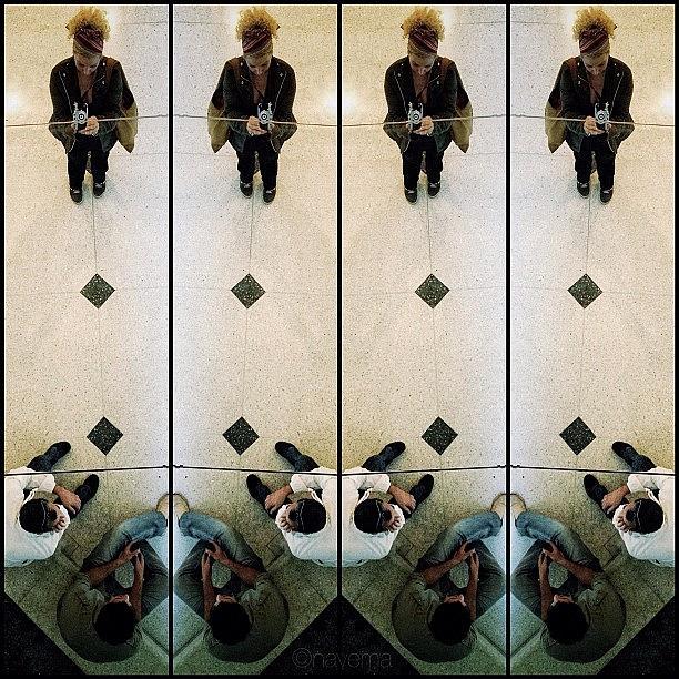 Symmetry Photograph - Geometric Reflections by Natasha Marco