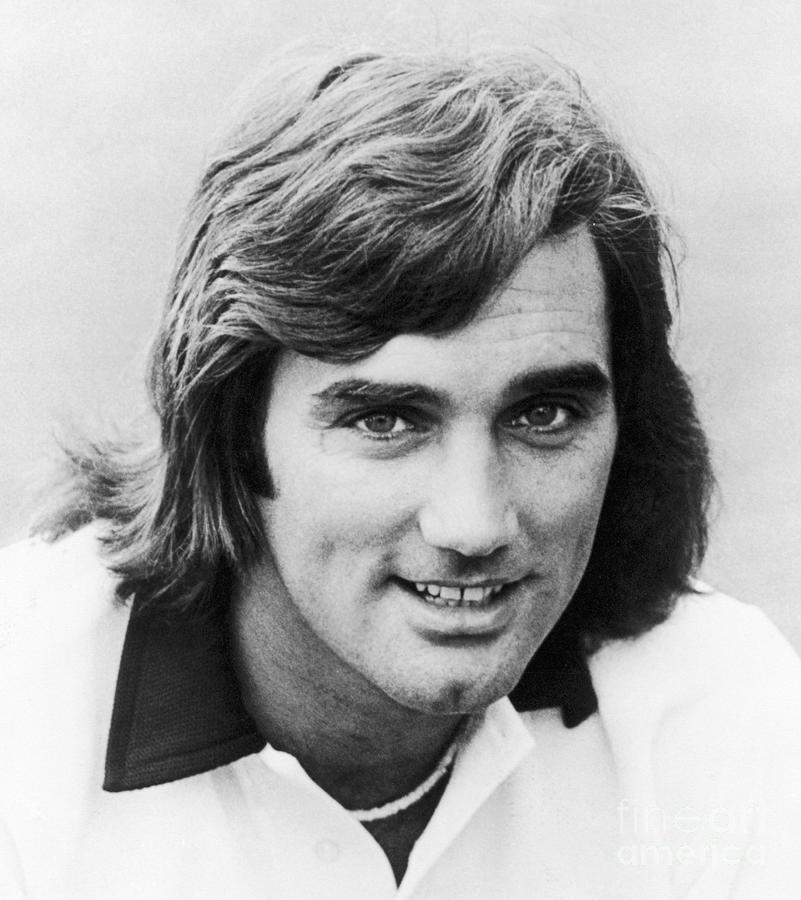 1977 Photograph - George Best (1946-2005) by Granger