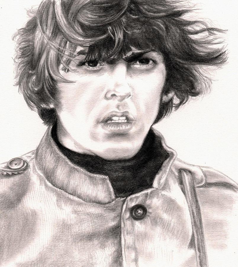 George Harrison Drawing - George by Kathleen Kelly Thompson