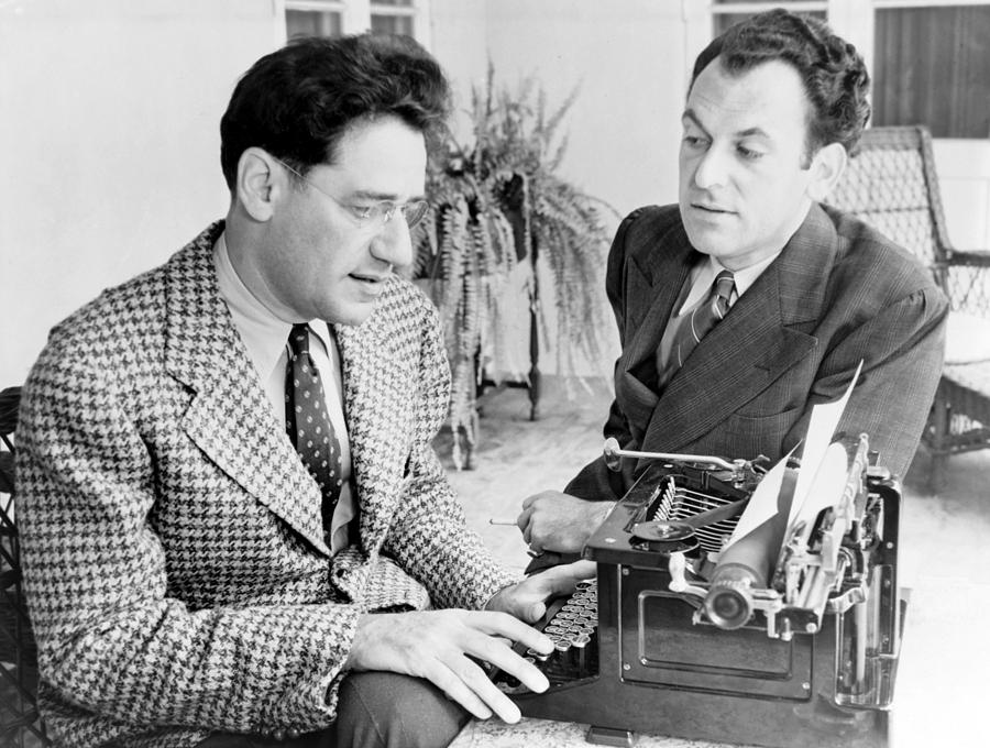 History Photograph - George S. Kaufman 1889-1961 Typing by Everett