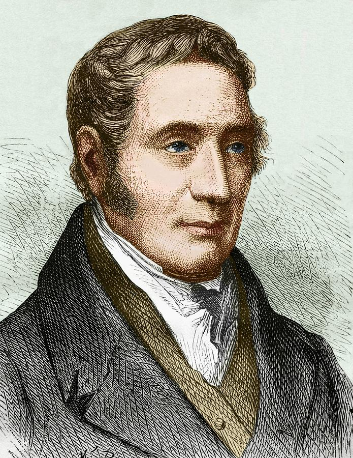 19th Century Photograph - George Stephenson (1781-1848) by Sheila Terry