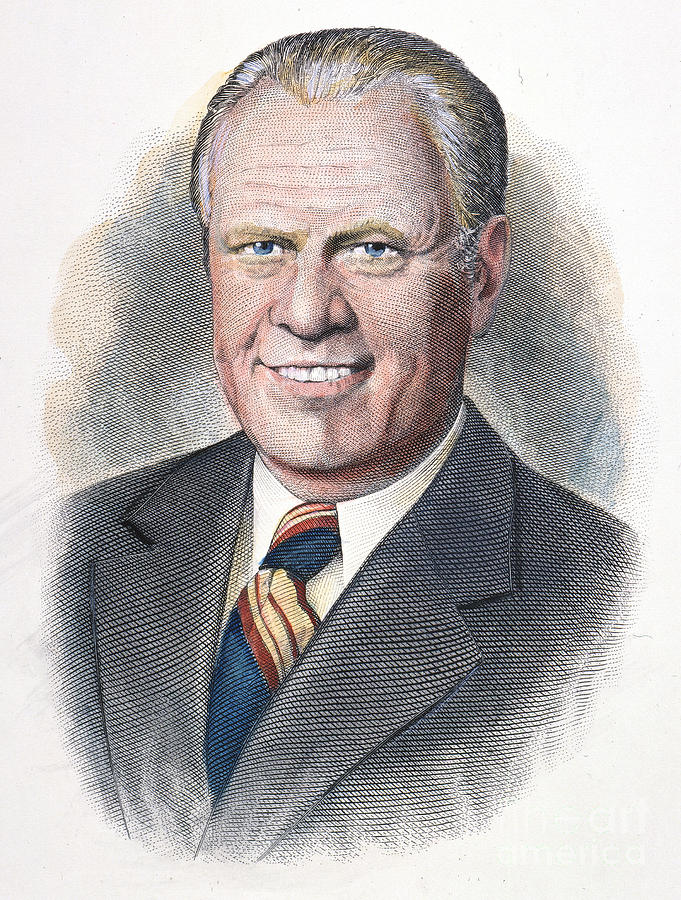 1970s Photograph - Gerald Ford (1913-2006) by Granger