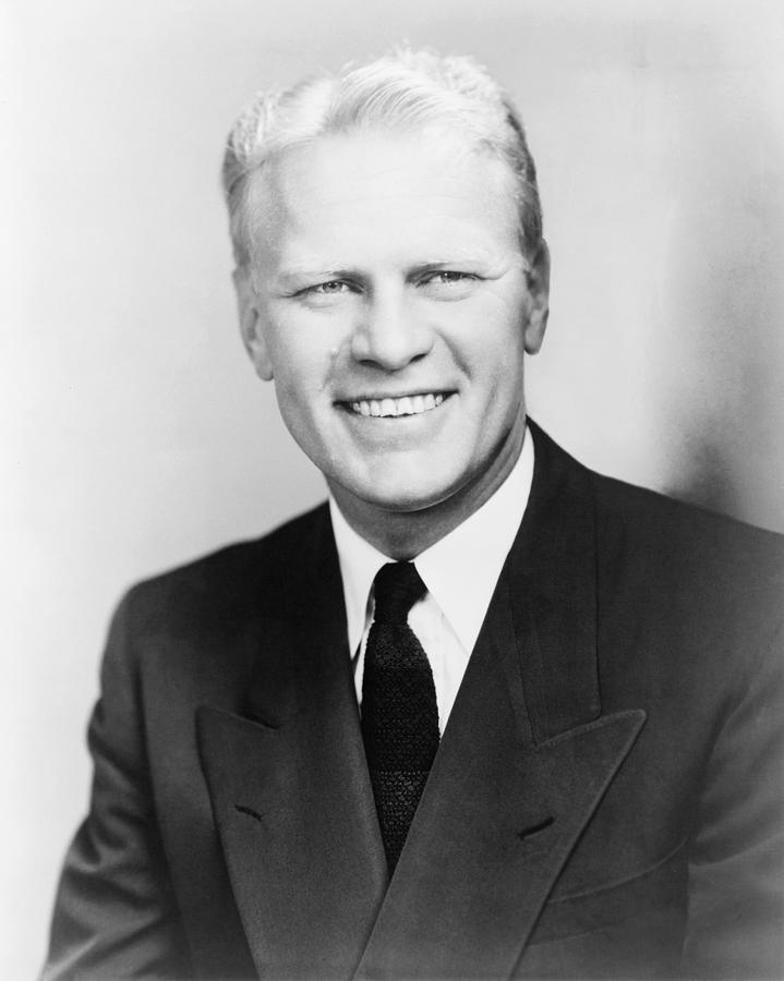 Gerald R Ford 1913 2006 As A Young Photograph By Everett