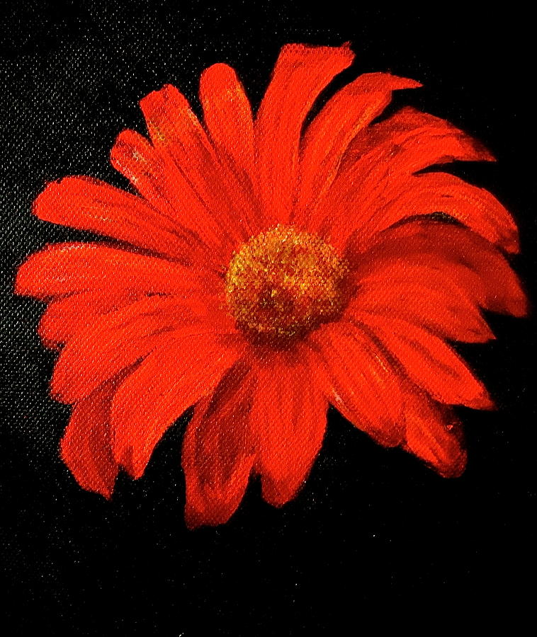 Gerbera Painting - Gerbera by Heather Matthews