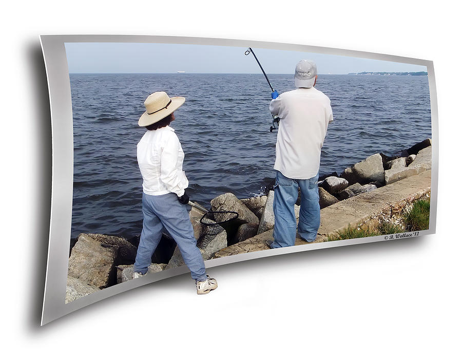 2d Photograph - Get The Net by Brian Wallace