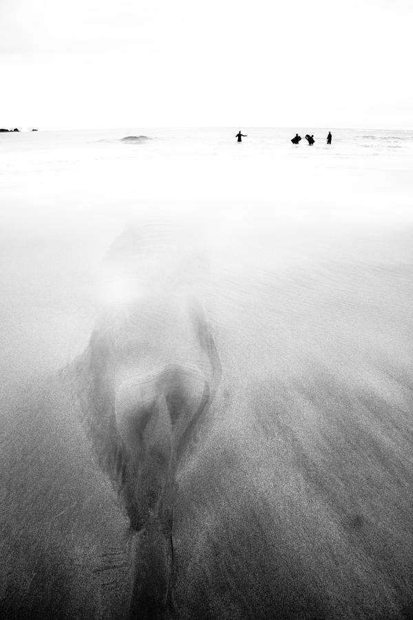 Beach Photograph - Getting Wet by Dorit Fuhg