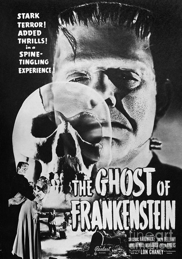 1942 Photograph - Ghost Of Frankenstein by Granger