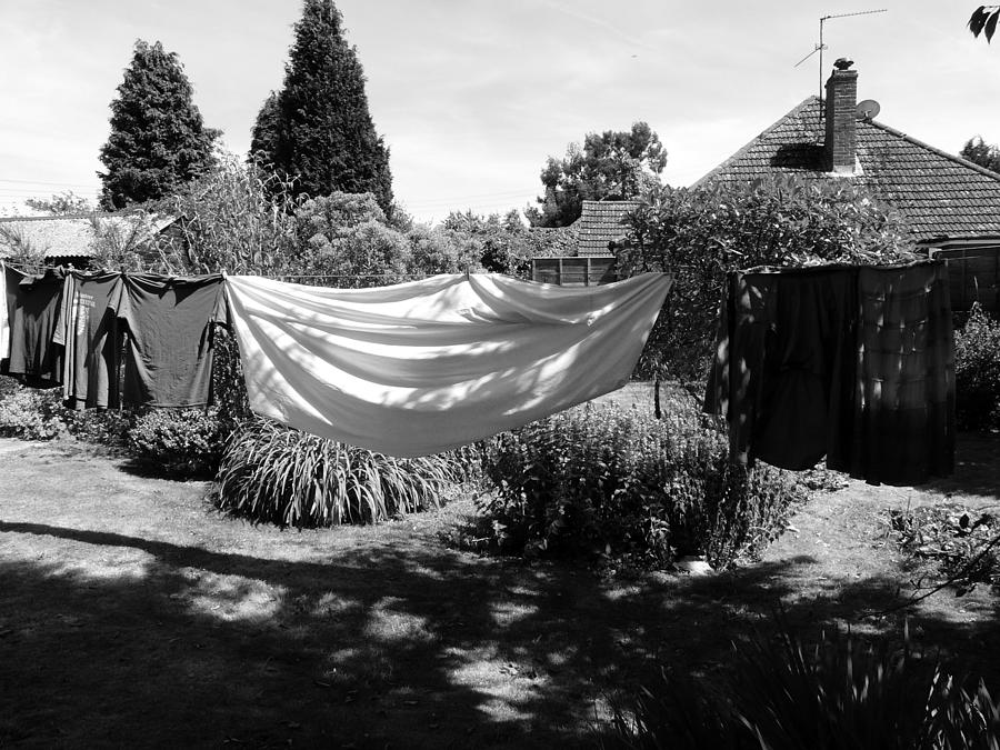 Laundry Photograph - Ghost Of Laundry Past by Rdr Creative