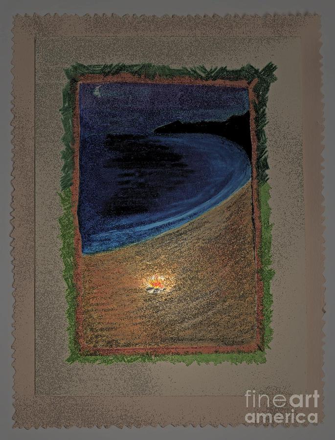 First Star Art Drawing - Ghost Stories Barra De Navidad by First Star Art