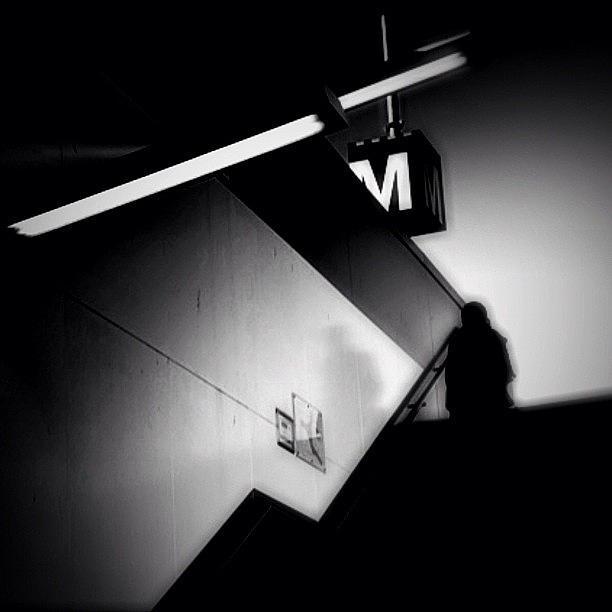Blackandwhite Photograph - Ghosttown - Concrete Jungle by Robbert Ter Weijden
