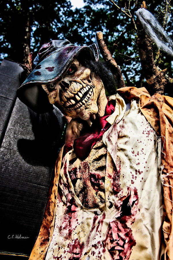 Skeleton Photograph - Ghoulie by Christopher Holmes