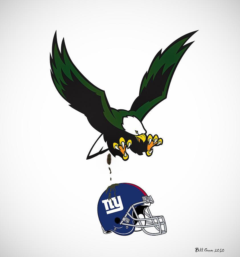 Sports Digital Art - Giants Suck by Bill Cannon