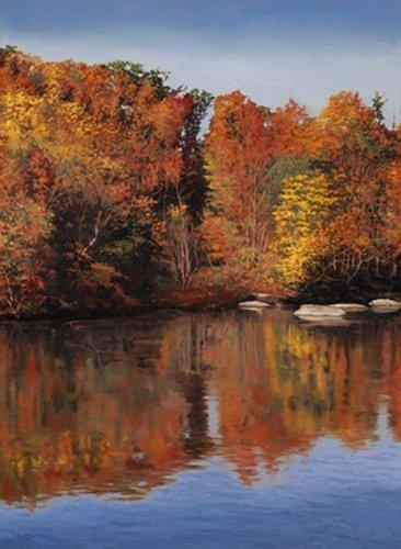 Landscapes Painting - Giclee Congaree Autumn by Michael Story