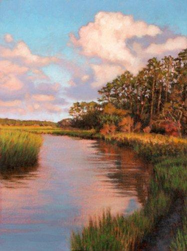 Georgia Painting - Giclee Jekyll Island View by Michael Story