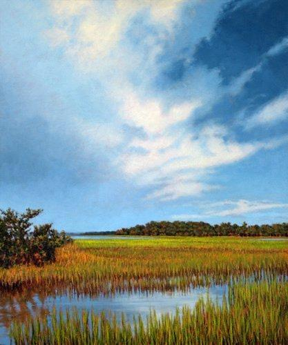 Sc Painting - Giclee Light Through The Clouds by Michael Story