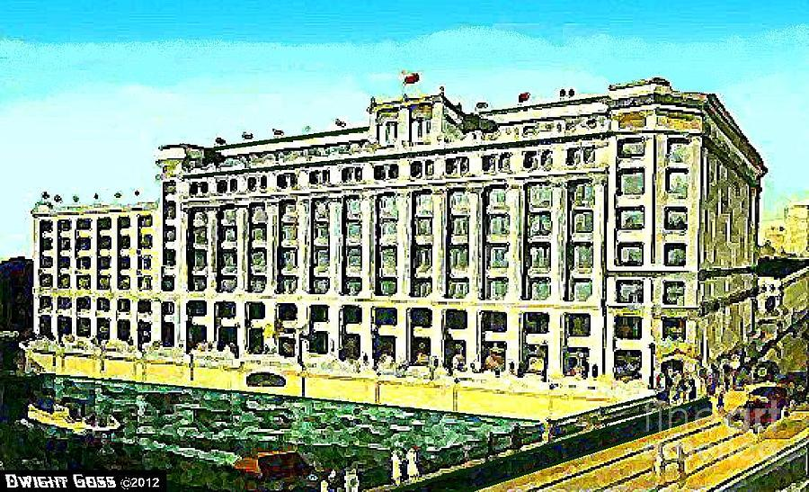 Gimbel 39 s department store in milwaukee wi in 1929 painting for Craft stores in milwaukee