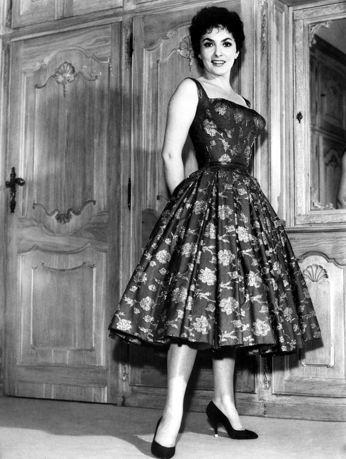 1950s Fashion Photograph - Gina Lollobrigida, 1950s by Everett