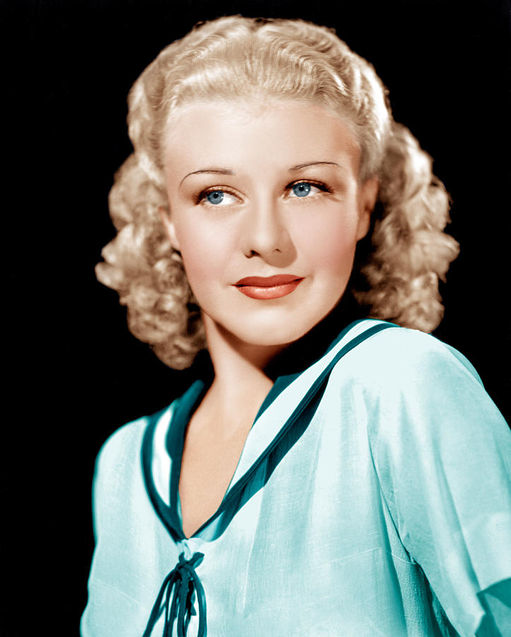 1930s Portraits Photograph - Ginger Rogers In Rko Publicity by Everett