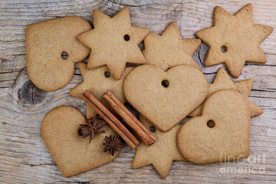 Ginger Photograph - Gingerbread by Nailia Schwarz