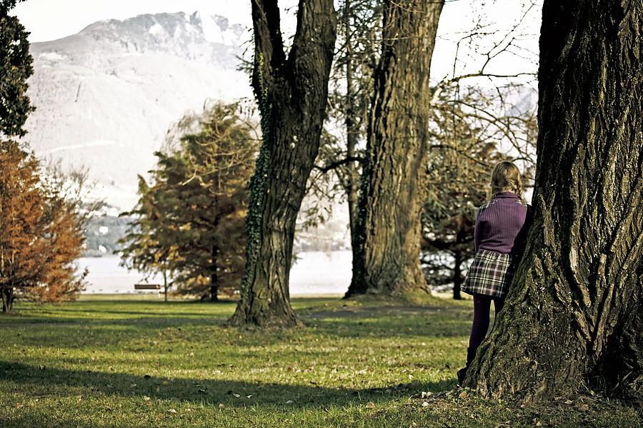 Girls Photograph - Girl In Autumn by Joana Kruse