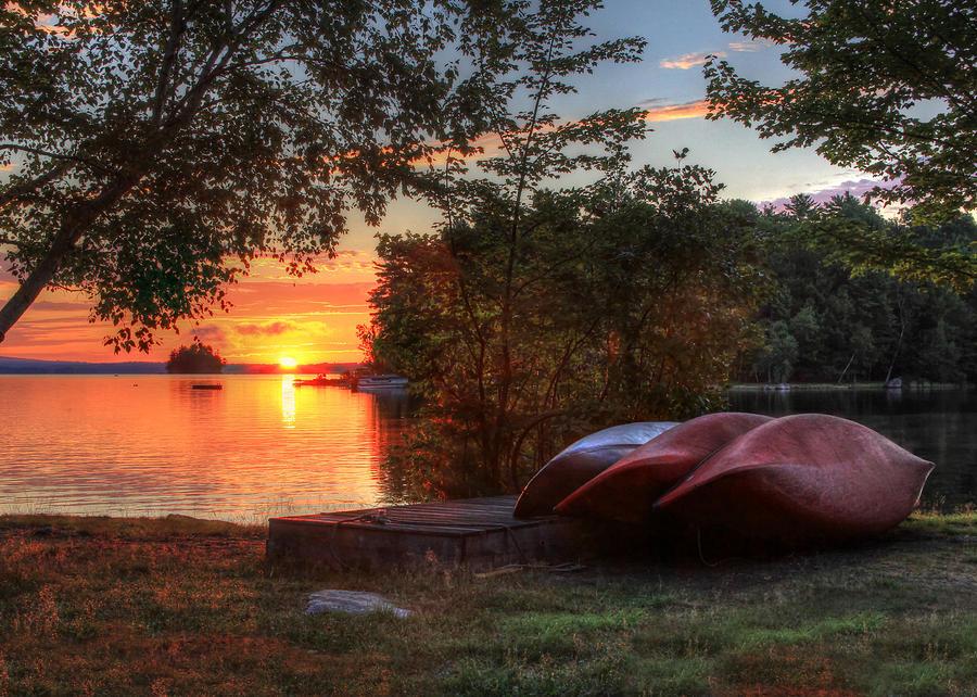 Canoe Photograph - Give Me A Canoe by Lori Deiter