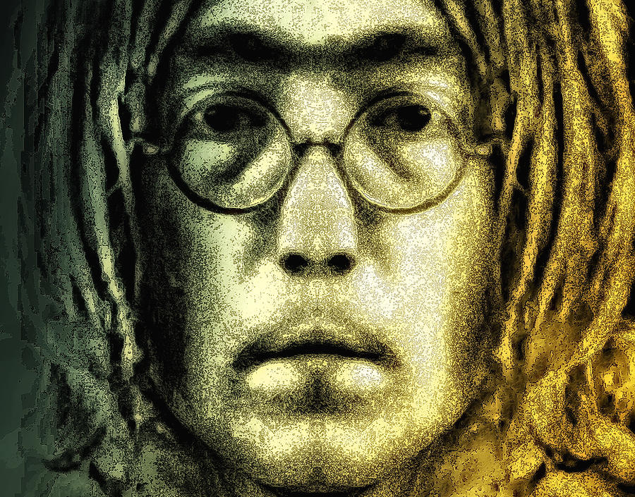 Lennon Digital Art - Give Peace A Chance by Bill Cannon