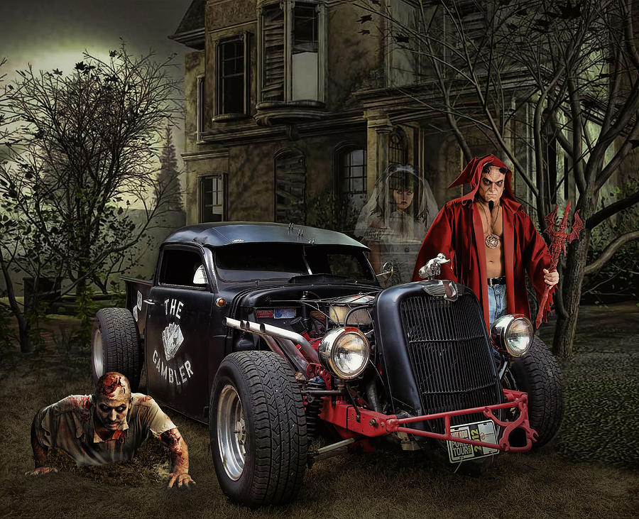 Give The Devil His Due Photograph By Rat Rod Studios