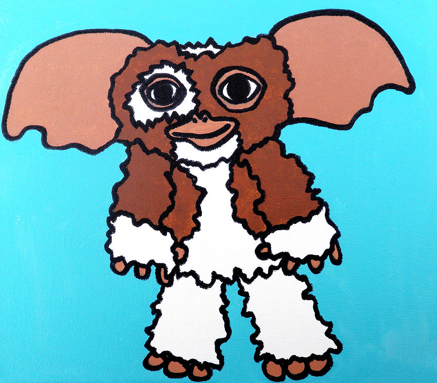 Gizmo Painting - Gizmo by Jera Sky