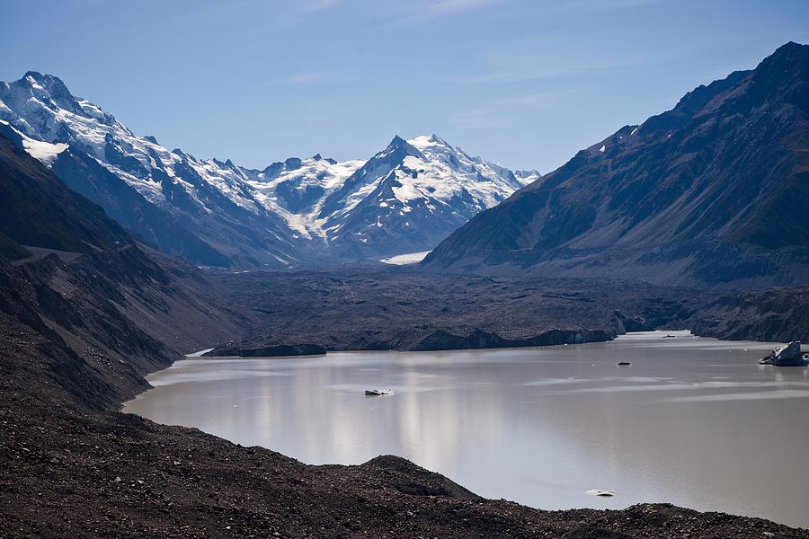 Mountain Photograph - Glacier Lake by Graeme Knox