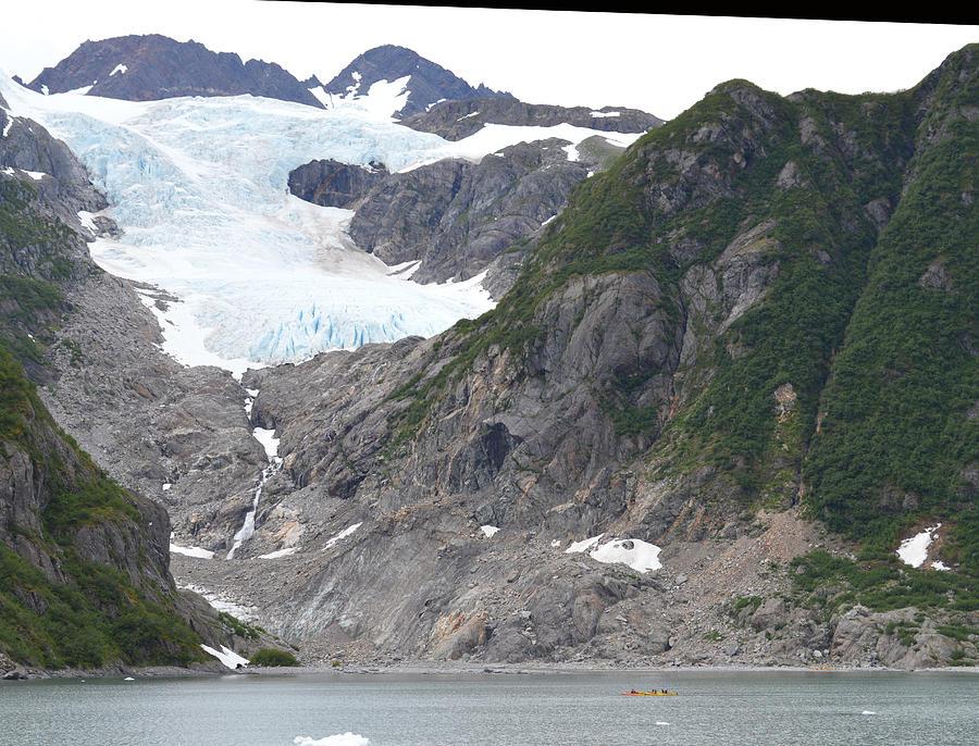 Seward Photograph - Glacier Summer in Seward Alaska by Ann Marie Chaffin