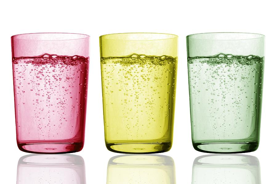 Glass Photograph - Glasses Of Water by Gombert, Sigrid