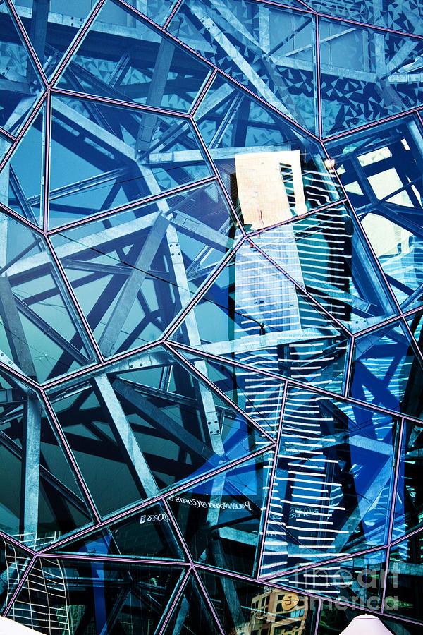 Architecture Photograph - Glasshouse City by Andrew Paranavitana