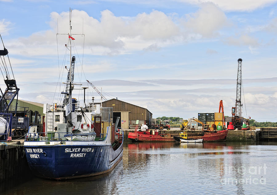 Glasson Photograph - Glasson Dock by Jason Connolly