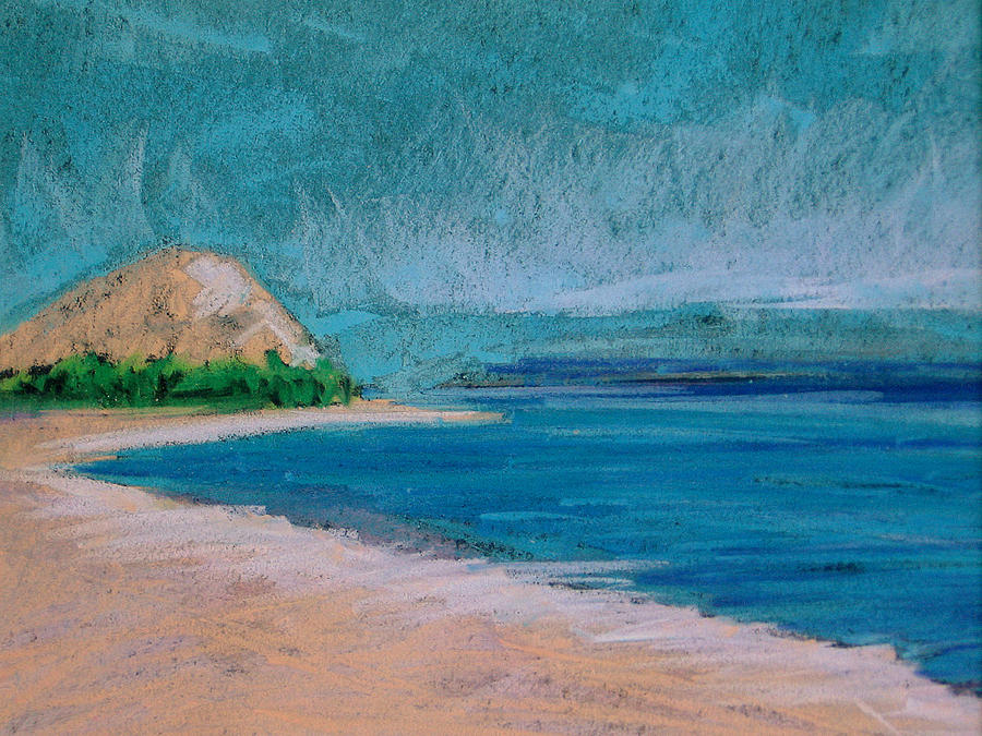 Glen Arbor Beach Pastel by Lisa Dionne