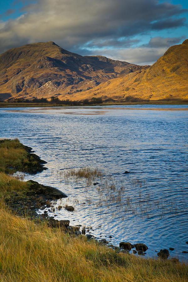 Scotland Photograph - Glen Gour View by Gary Eason