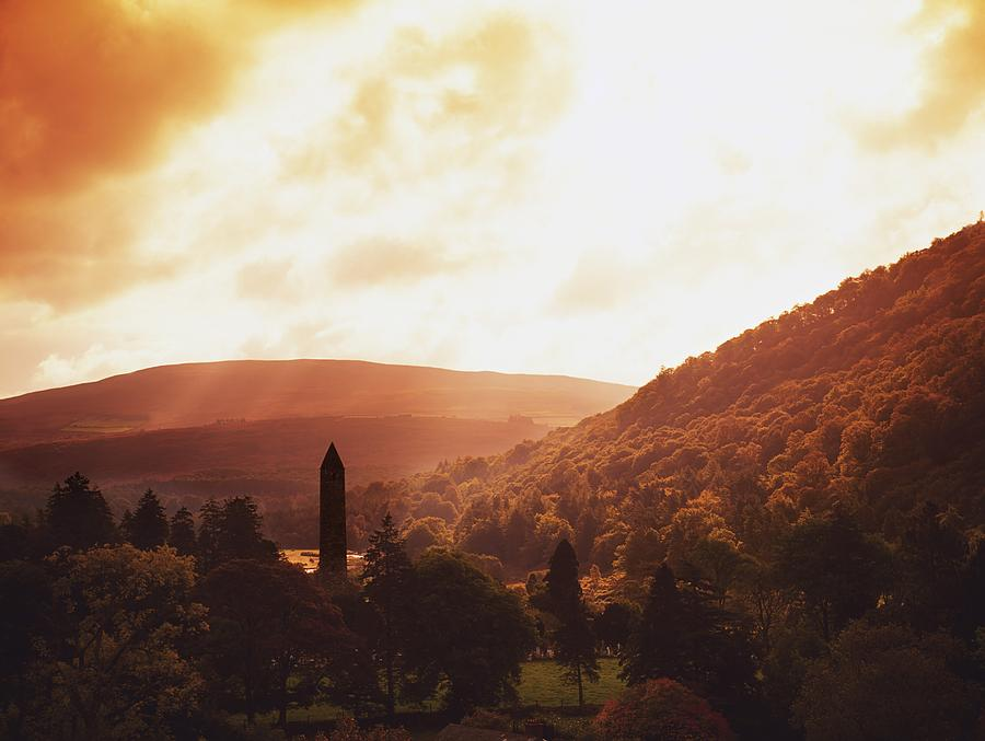 Outdoors Photograph - Glendalough, County Wicklow, Ireland by The Irish Image Collection