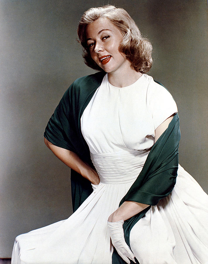 1950s Fashion Photograph - Gloria Grahame, Ca. 1950s by Everett
