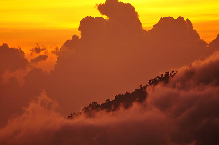Bali Photograph - Glorious Sunrise by Sebastien Coursol