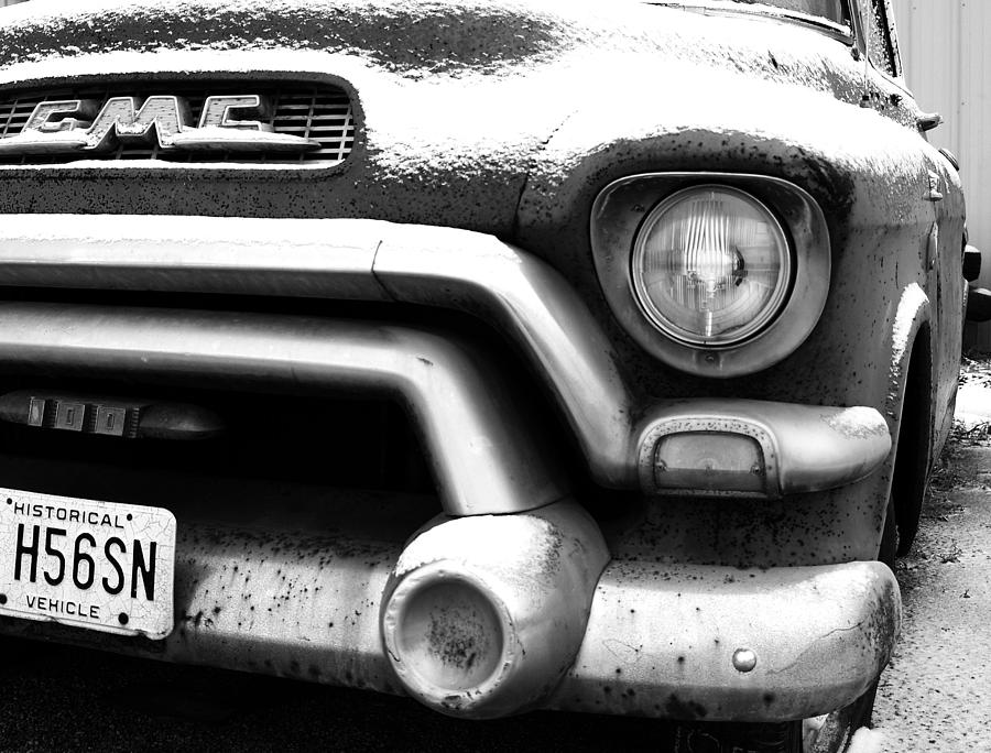 Gmc Photograph - Gmc Truck by Brian Mollenkopf