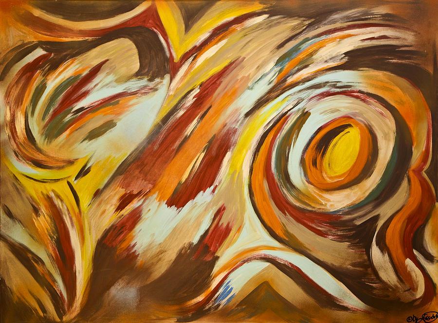 Art Marketing Mixed Media - Go by Artista Elisabet