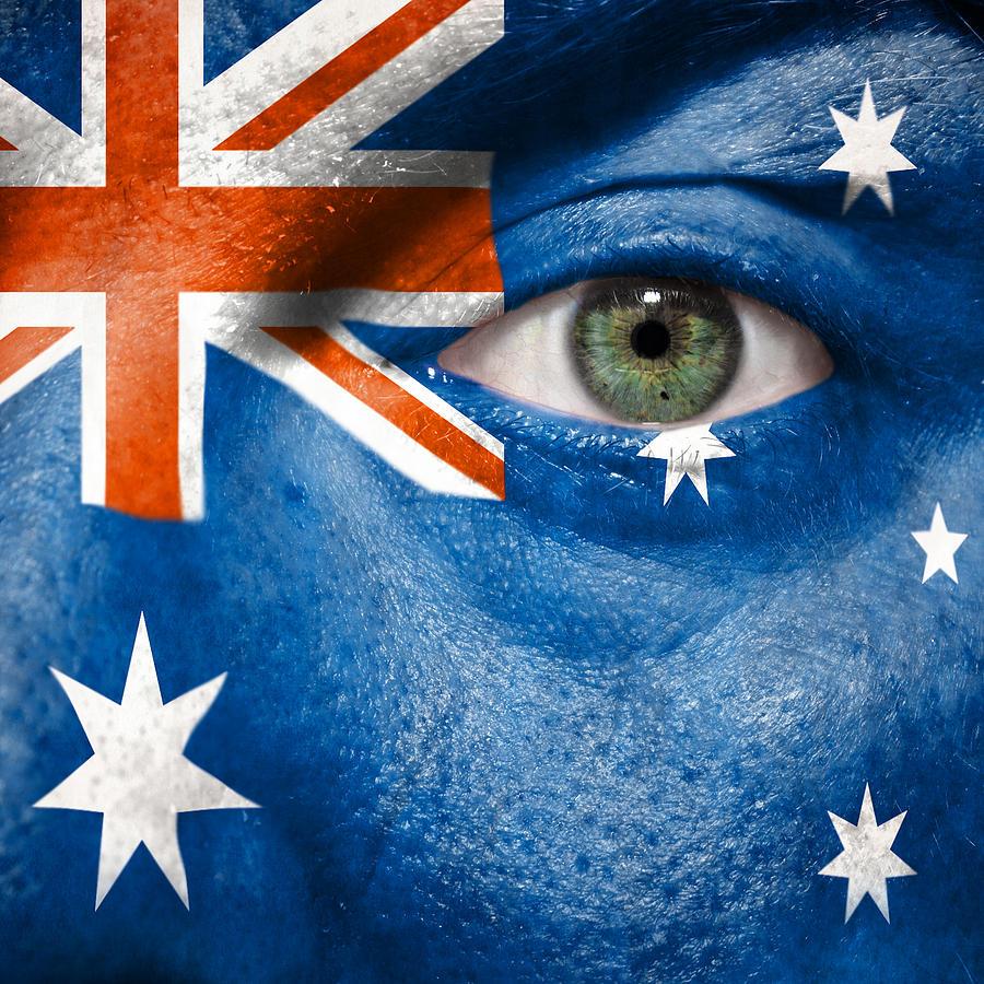 2012 Photograph - Go Australia by Semmick Photo
